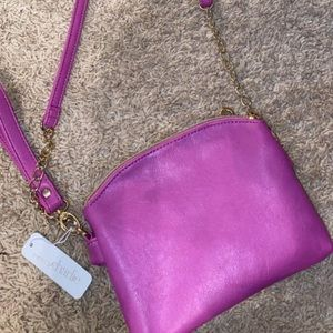 Charming Charlie's purple purse